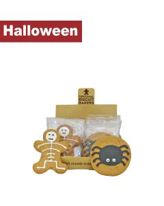 Original Biscuit Bakers - Iced Gingerbread Spider & Skeleton - 12 x 40/35g