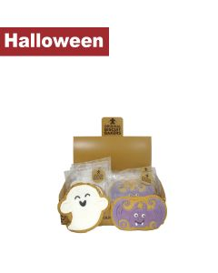 Original Biscuit Bakers - Iced Gingerbread Bat & Ghost - 12 x 45/50g