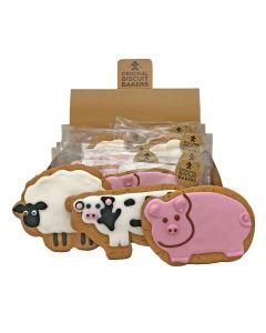 Original Biscuit Bakers - Assorted Deluxe Farmyard Range - 12 x 60-70g