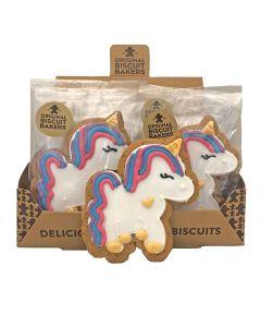 Original Biscuit Bakers - Unicorn Biscuits - 12 x 60g