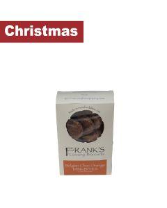 Franks Luxury Biscuits - Belgian Choc Orange Mini Oat Biscuit - 15 x 180g