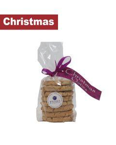 Franks Luxury Biscuits - Christmas Cherry & White Choc Oaties - 12 x 250g