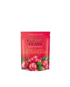 Forest Feast - Whole Dried Cranberries - 6 x 170g