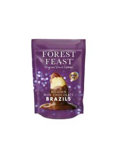 Forest Feast - Belgian Milk Chocolate Brazils Sharing Bag - 6 x 265g