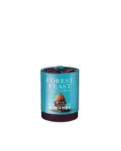 Forest Feast - Salted Dark Chocolate Almonds Gift Tube - 6 x 135g