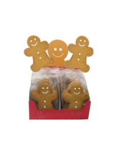 Original Biscuit Bakers - Gingerbread Jack in Shelf - 20 x 25g