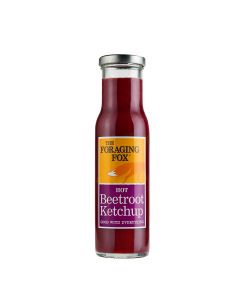 Foraging Fox, The - Hot Beetroot Ketchup  - 6 x 255g