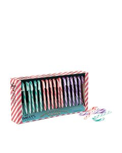 Mr Stanley's - Assorted Gin, Whisky and Mulled Wine Flavour Candy Canes - 12 x 250g