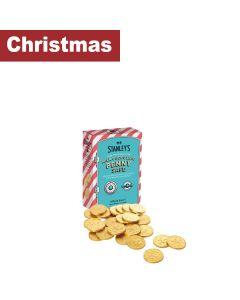 Mr Stanleys - Milk Chocolate Penny safe  - 12 x 100g