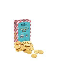Mr Stanley's - Solid Milk Chocolate Coins - 12 x 100g