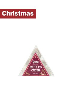 Green Cuisine - Triangle Box of Mulled Cider Pouchettes - 12 x 25g
