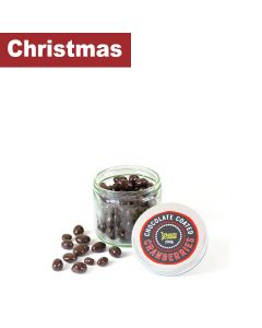 Green Cuisine - Jars of Chocolate Cranberries - 6 x 200g