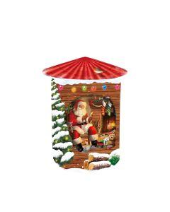 Grandma Wilds Biscuits - Santa's Workshop Rotating Tin - 6 x 200g