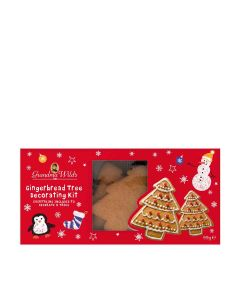 Grandma Wilds Biscuits - Gingerbread Tree Decorating Kit - 10 x 99g
