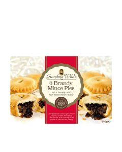 Grandma Wilds Biscuits - 6 Luxury Mince Pies - 12 x 348g