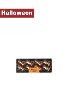 Gwynedd Confectioners - Halloween Dracula's Dentures - 15 x 70g