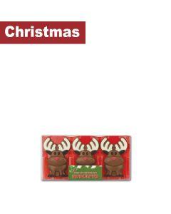 Gwynedd Confectioners - Christmas Rudolph's Trio Pack - 12 x 65g