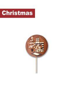Gwynedd Confectioners - Giant Lollipop Christmas Fireside - 6 x 200g