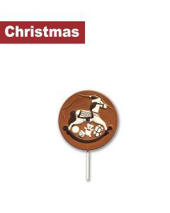 Gwynedd Confectioners - Giant Lollipop Christmas Rocking Horse - 6 x 200g