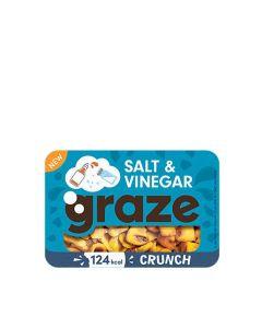 Graze - Salt & Vinegar Crunch - 9 x 28g