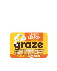 Graze - Lively Lemon Flapjack - 9 x 53g