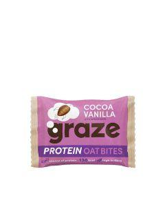 Graze - Cocoa and Vanilla Protein Bites - 15 x 30g