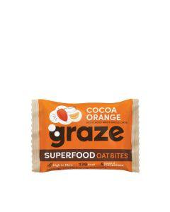 Graze - Cocoa Orange Superfood Oat Bites - 15 x 30g