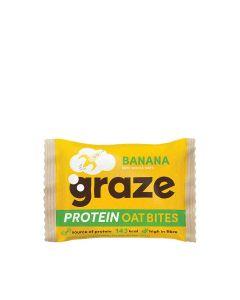 Graze - Banana Protein Oat Bites - 15 x 30g