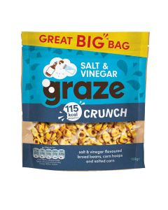 Graze - Salt & Vinegar Crunch - 6 x 130g