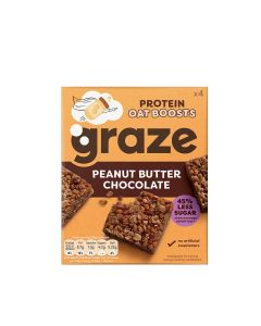 Graze - Peanut Butter and Chocolate Protein Bites - 7 x 120g