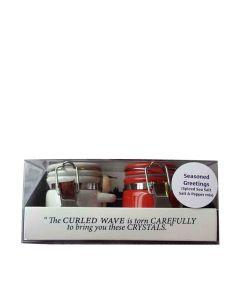 Halen Mon - Twin Mini Set Pure Sea Salt & Cracked Pepper - 6 x 30g
