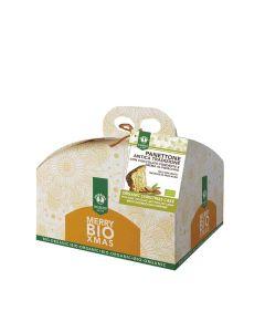 Probios  - Organic Dark Chocolate and Pistachio Cream Panettone - 6 x 750g