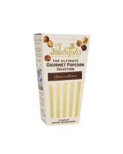 Joe & Seph's - Ultimate Popcorn Selection Box - 8 x 84g