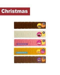 Kadoo - Milk & Dark Choc with Cream & Caramel, White Choc with Praline, Pink Choc with Strawberry & Orange with Mango - 15 x 150g