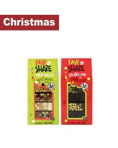 Kadoo - Mixed Case of Double Dark & Dark Lemon (5) and Milk Confetti & White Caramel Sea Salt Mini's (5) - 10 x 145g