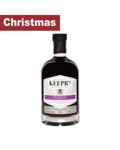 Keepr's - British Sloe & Honey Gin - Spirit Drink 28% Abv - 6 x 70cl