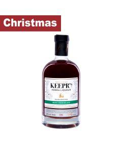 Keepr's - Mint Chocolate Vodka Liqueur 26% Abv - 6 x 70cl