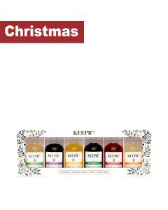 Keepr's - Honey Taster Gift Box  - 6 x 5cl