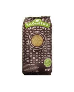 Kilombero Rice - African Brown Long Grain Rice - 12 x 1kg