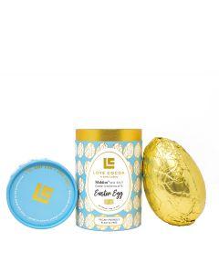 Love Cocoa - Vegan Maldon Sea Salt Dark Chocolate Easter Egg - 10x150g