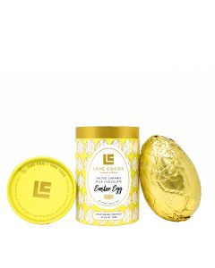 Love Cocoa - Salted Caramel Milk Chocolate Easter Egg - 10x150g