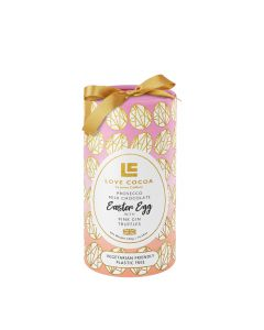 Love Cocoa - Boozy Luxury Easter Egg  with Pink Gin Truffles - 6x500g