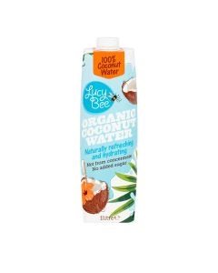 Lucy Bee - Fairtrade Organic Coconut Water - 6 x 1L