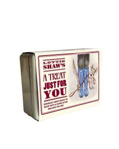 Lottie Shaw's - Treats for the Dog Walker Gift Tin - 4 x 1kg