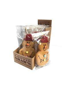 Lottie Shaw's - Gingerbread Snowman - 12 x 50g