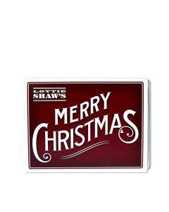Lottie Shaw's - Merry Christmas Tins - 4 x 1kg