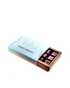 Lick the Spoon - Sea Salt Pralines 12 Chocolate Box - 6 x 150g