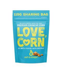 Love Corn - Salt & Vinegar - 6 x 115g
