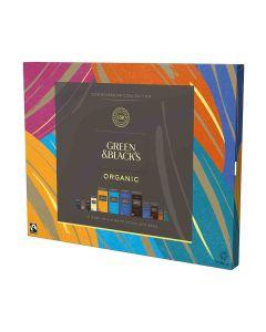 Green & Blacks - 12 Dark, Milk & White Chocolate Bars - The Connoisseur Collection - 6 x 540g