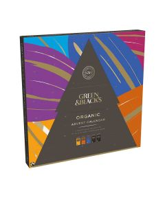 Green & Blacks - Advent Calendar with Milk & Dark Chocolate Bars - 8 x 360g